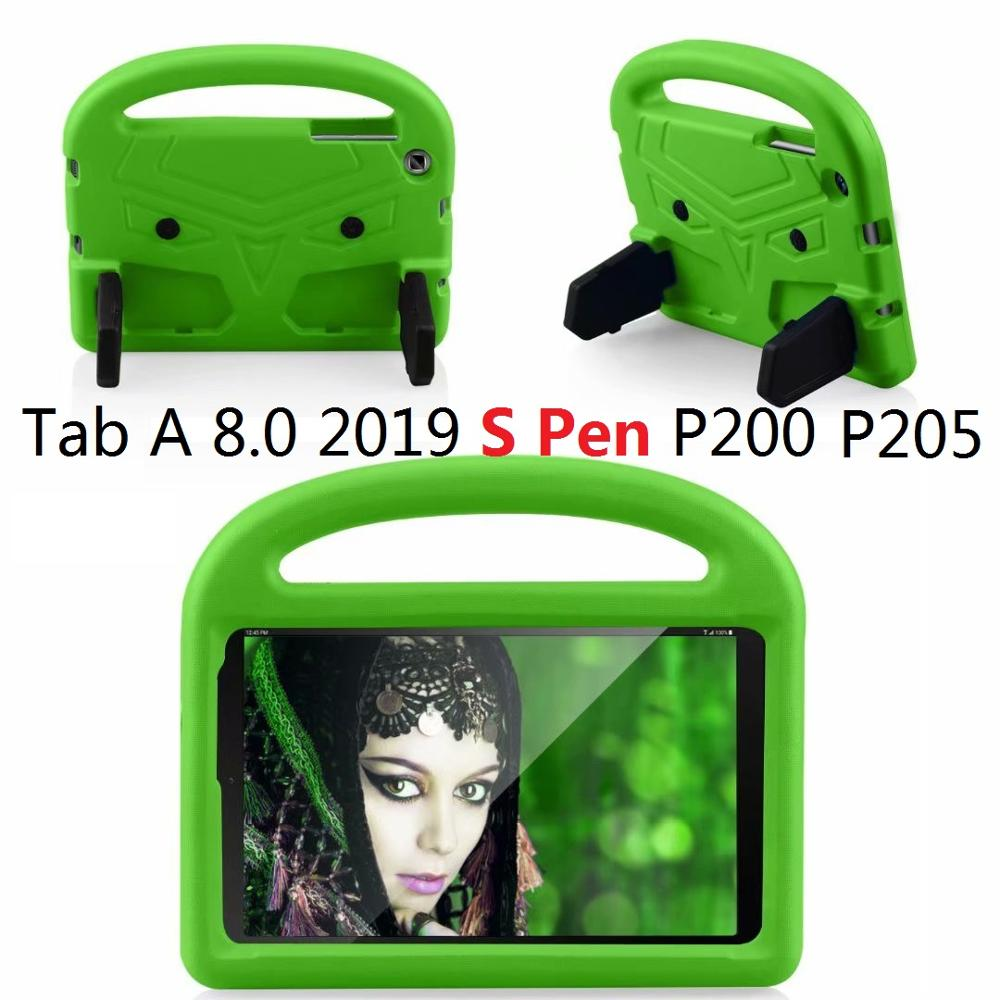 EVA Silicon Coque for <font><b>Samsung</b></font> Tab A 2019 S Pen P200 <font><b>P205</b></font> Case Kids Cartoon Bird Shockproof Funda for <font><b>Samsung</b></font> Tab A P200 Cover image