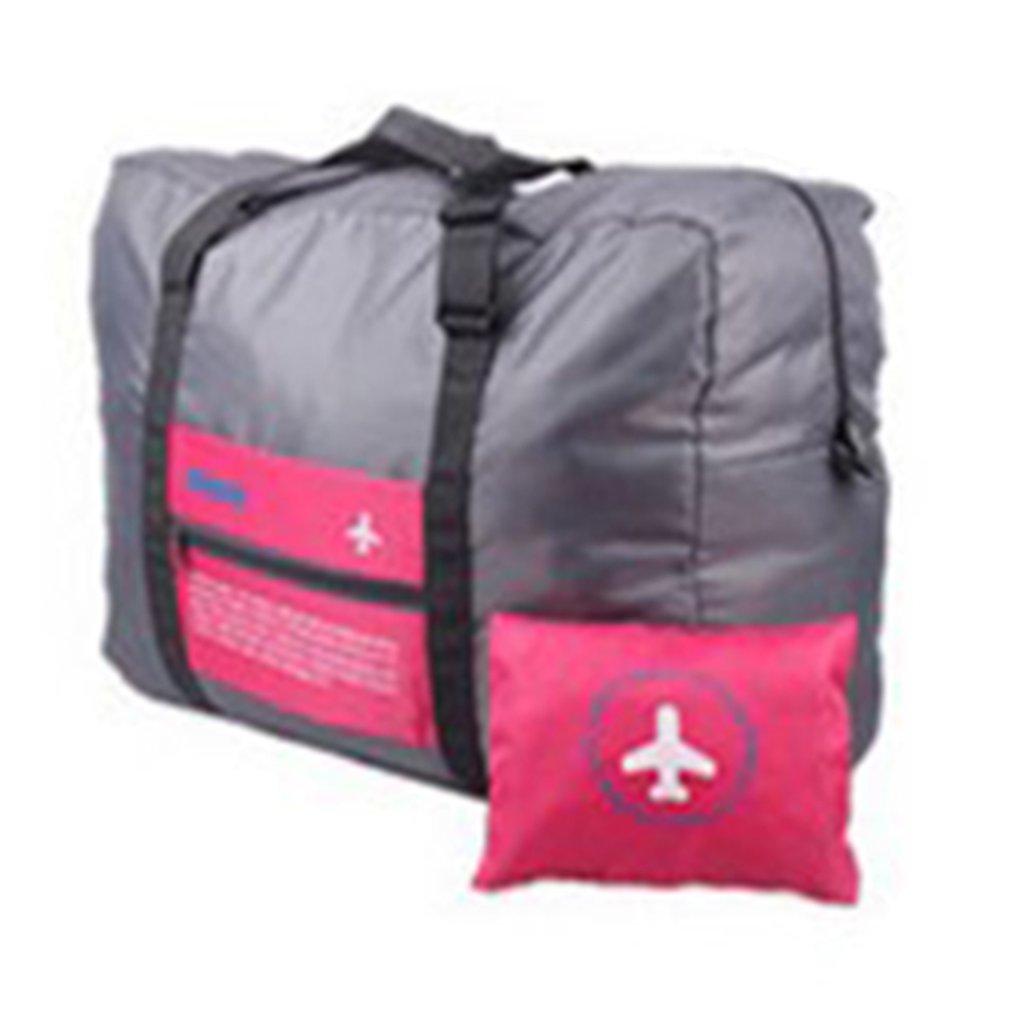 Dog Cat Friendship Art Travel Lightweight Waterproof Foldable Storage Carry Luggage Large Capacity Portable Luggage Bag Duffel Bag