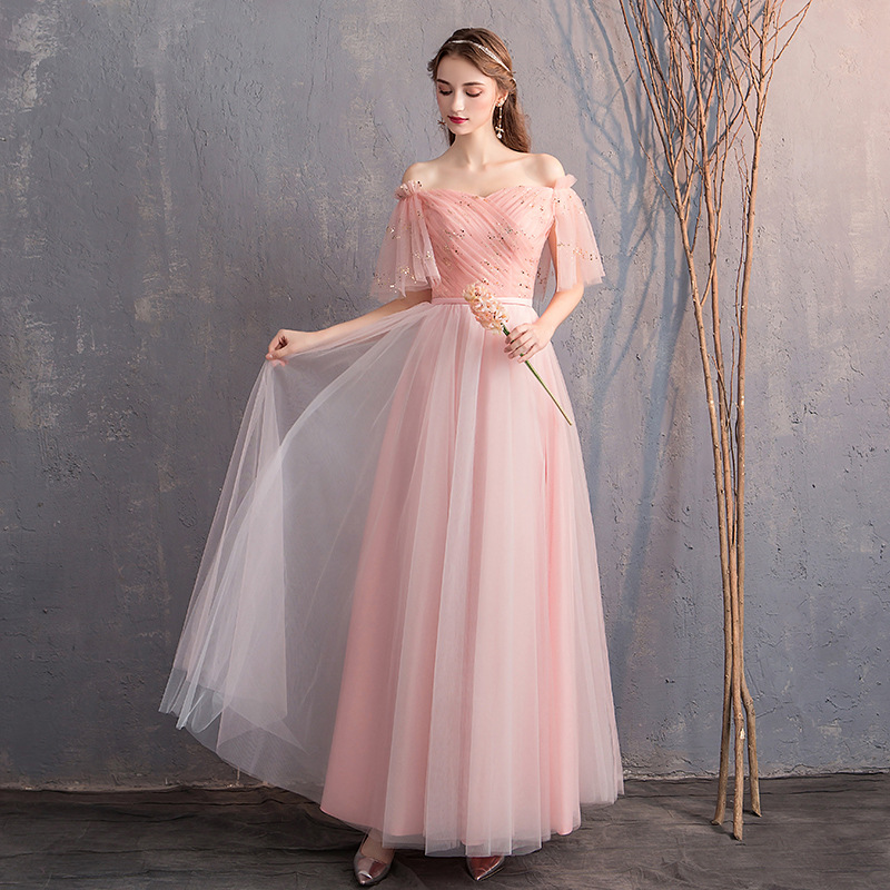 Bridesmaid Service 2019 New Style Bridesmaid Mission Sisters Skirt Best Friend Formal Dress Long Host Annual General Meeting Lat