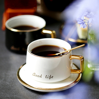 Luxury Mugs Coffee Cups Tea Cups and Saucer Sets Espresso Cups Porcelain Eco Friendly Porcelana Taza De Cafetaza Drinkware Bb50