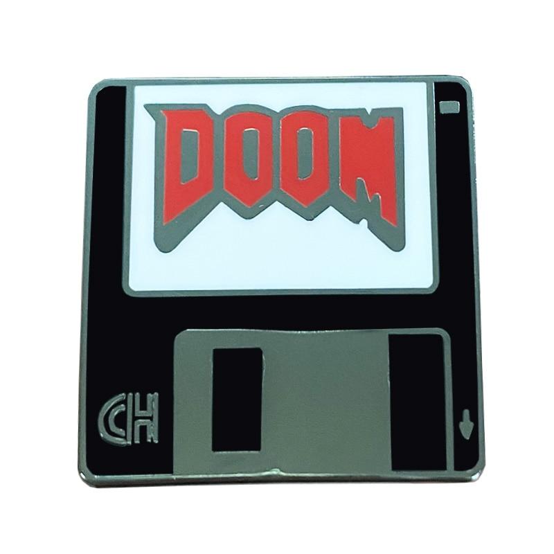 Великолепная штырь отворотом дань ОГ шутер от первого лица от обратно в старом MS-DOS дней, DOOM!