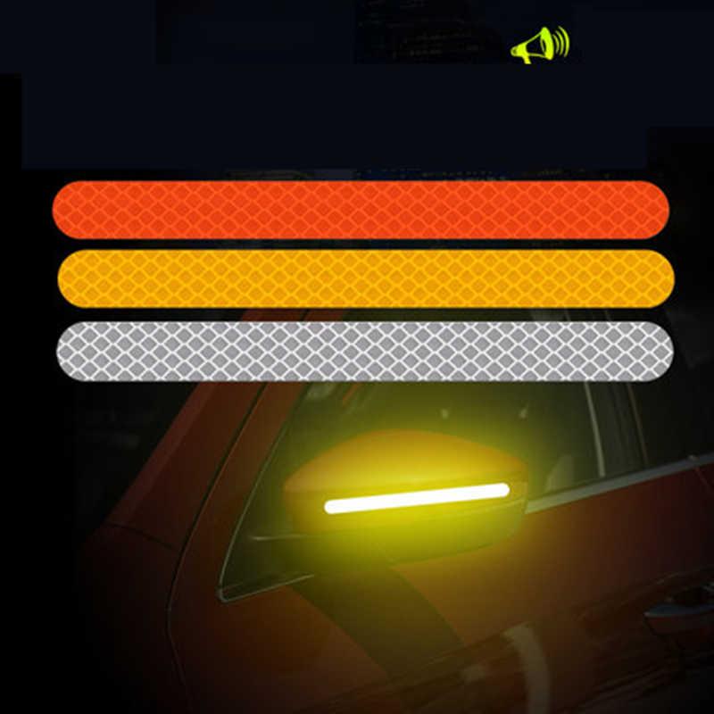 سيارة مرآة الرؤية الخلفية عاكس الشريط ملصق لنيسان قاشقاي Pulsar مارس 370Z ميكروا Juke ملاحظة تيدا وينجرود NV200