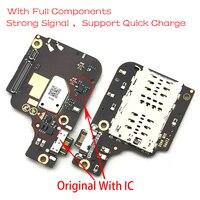 Usb porto de carregamento doca carregador plug conector placa cabo flexível para lenovo z6 pro l78051