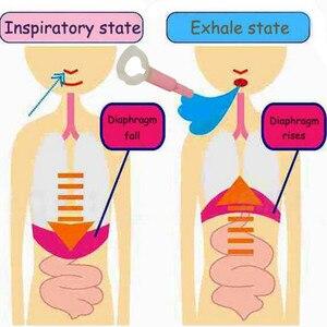 Image 5 - רק 5 דקות שומן מבער בטן נשימה מאמן ההרזיה גוף מותן להגדיל ריאות קיבולת מתיחת הפנים כלים לירידה במשקל