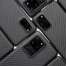 Luxury Carbon Fiber Case For Samsung Galaxy S20 Plus S20 Ultra S20+ S20 Matte Ar