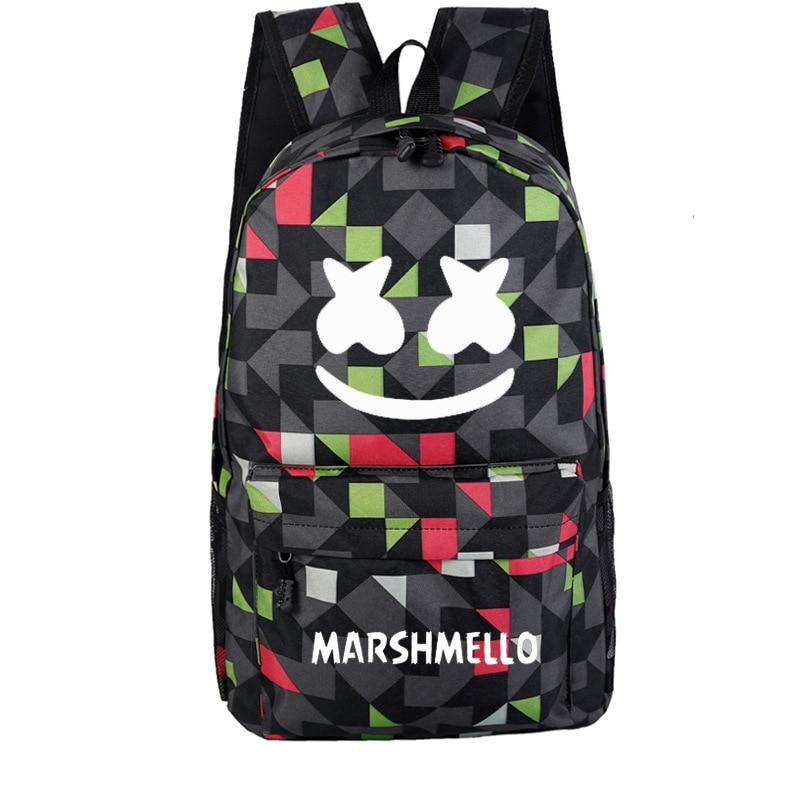 Candy Backpack School-Bag Marshmello A-Generation Custom Walker Wholesale Allen Fat of