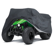 Scooters ATV Cover 145*85*98cm Case Sealed Storage Waterproof Snow For Kawasaki KFX 50 80 90 UV Resistant Dust Useful(China)