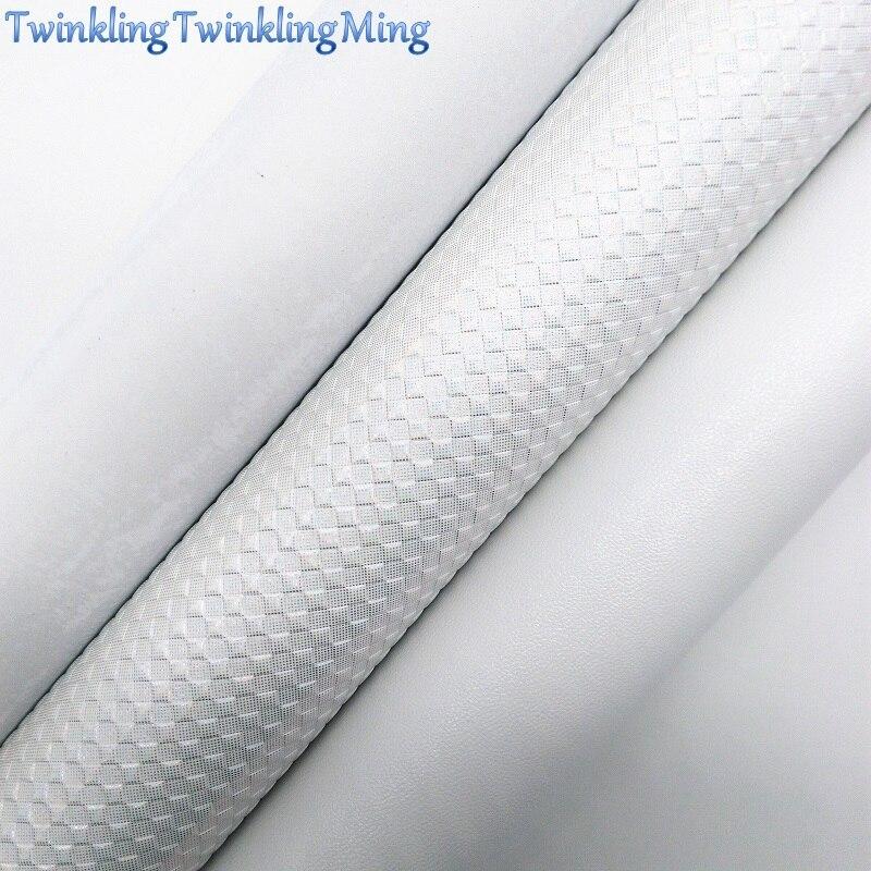 Белая искусственная кожа, ткань из искусственной кожи, тканые простыни из искусственной кожи для банта A4 21x29 см мерцание Ming XM553