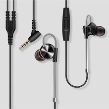 QKZ DM10 Earphone Magnetic Universal 12mm Metal In ear Headset 3.5mm Phone Laptop Gaming Earphone Earbuds