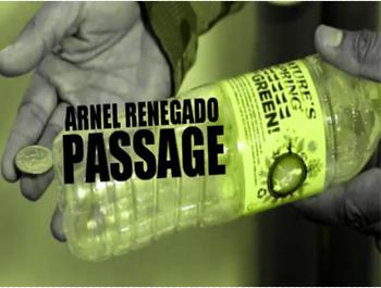2015 przejście przez Arnel Renegado-magiczne sztuczki tanie i dobre opinie Metal Różne rekwizyty Unisex Jeden rozmiar 8-11 lat STARSZE DZIECI 12-15 lat ŁATWE DO WYKONANIA Profesjonalne Zniknięcie