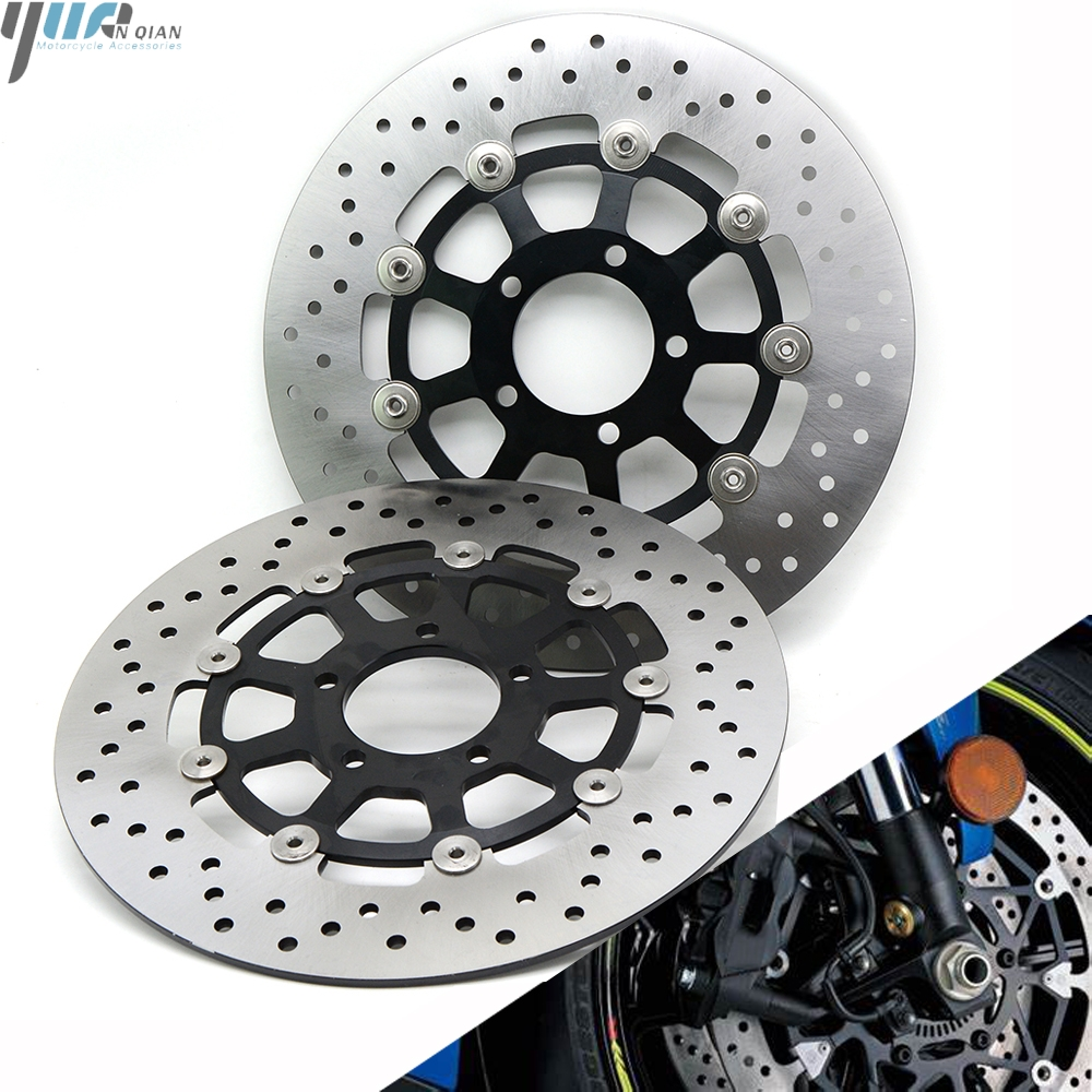Motorcycle Parts Accessories Front Floating Brake Disc Rotor Fit For SUZUKI GSX-R GSXR 1000 GSX R GSXR1000 2000 2001 2002 2003 image