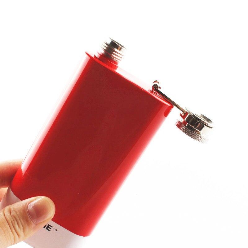 304 Stainless Steel Hip Flask High Quality Portable Wine Whisky Pot Bottle Drinkware Bottle For Drinkware 140ml
