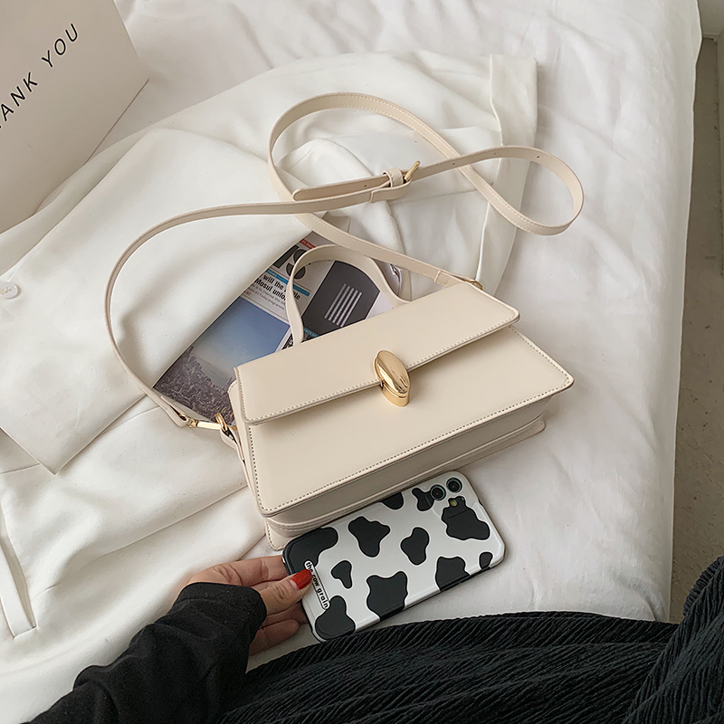 as mulheres 2021 designer cor sólida nova moda crossbody bolsa casual