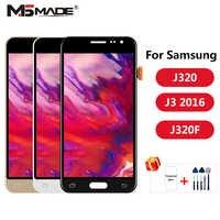 J320 ajustement pour Samsung Galaxy J3 2016 affichage J320 J320F J320M J320Y LCD écran tactile numériseur affichage pièces d'assemblage
