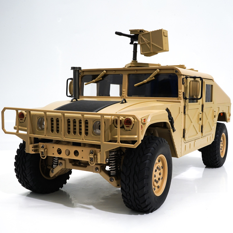 Image 5 - игрушки для мальчиков RC 30 KM/H  Hummer Snow  Mud Ground Off road Remote Control Vehicles Military Trucks 1:10  Car Model Toy-in RC Cars from Toys & Hobbies