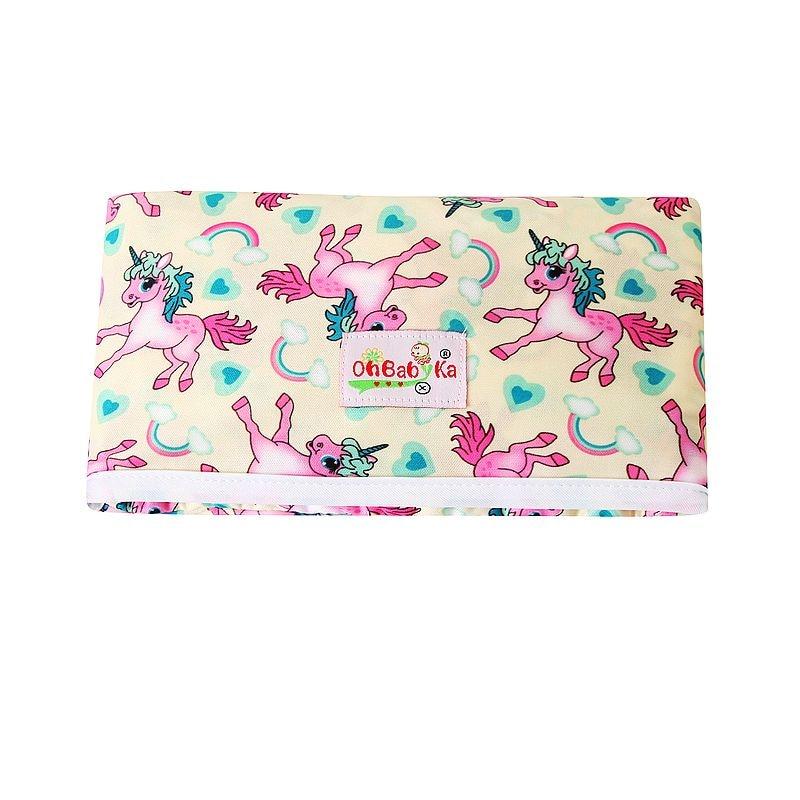 Новые 3 в 1 Водонепроницаемый пеленальный коврик пеленки мнчества, Портативный чехол для детских подгузников коврик чистой ручной складной сумка из узорчатой ткани - Цвет: HND02