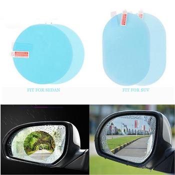 On Sale Car Rearview Mirror Rainproof Film Anti Fog Window Clear waterproof Rear View Mirror Nano Coating Transparent Protective image