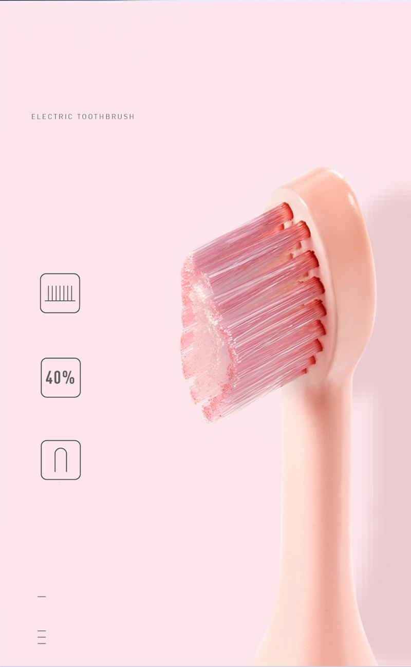 Escova de dentes sonic onda recarregável qualidade
