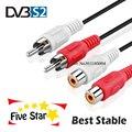 Порт av lines 5/6/7/8 для спутникового ресивера DVB-s/s2, самый стабильный супер быстрый