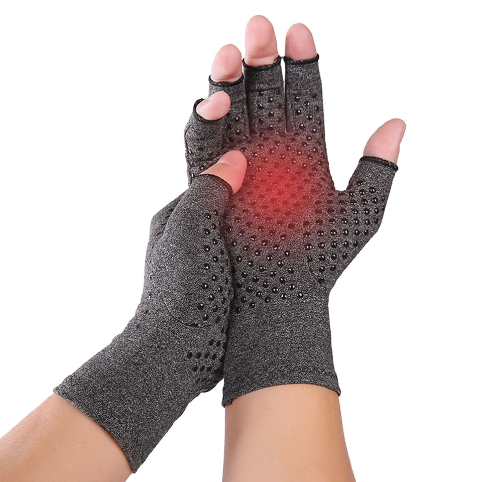 Arthritis Compression Gloves For Women And Men -Copperfit Compression Arthritis Pain Relief Hands For Rheumatoid Arthritis