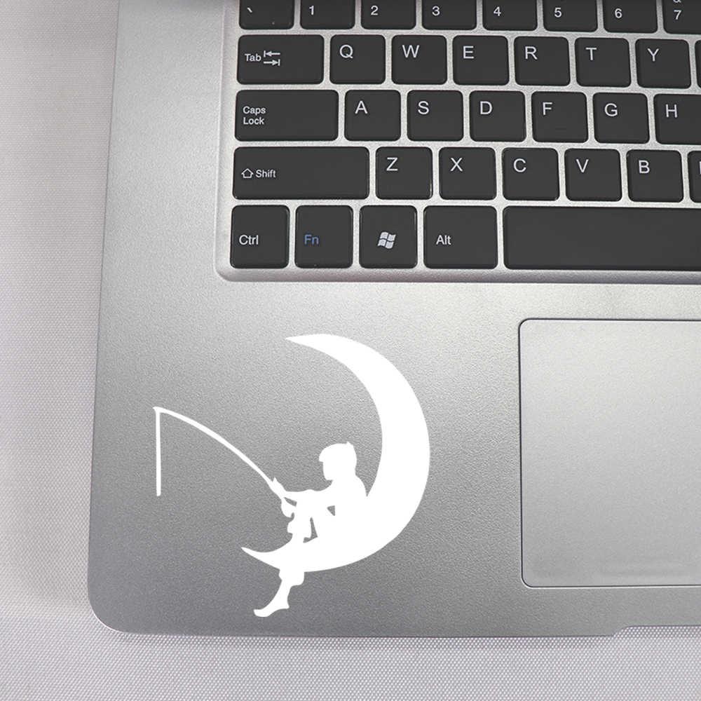 Mặt Trăng Đẹp Laptop Miếng Dán Kính Cường Lực Cho Laptop Decal Air 13 PRO RETINA 11 12 Laptop 15 Inch Trang Trí