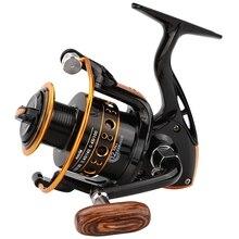 ABZB-12Bb спиннинговая Рыболовная катушка рыболовное колесо для соленой воды металлическая катушка Рыболовные катушки Carpa Molinete De Pesca