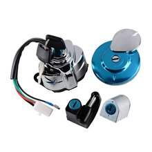 VT 400 Motorcycle Ignition Fuel Gas Cap Steering Lock Set + 2 Keys Fit Honda Shadow VT600 VT400 VT750 Steed VLX 400 VLX 600 цена