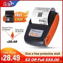Draagbare Mini58mm Bluetooth Draadloze Thermische Ontvangst Ticket Printer Voor Mobiele Telefoon Bill Machine winkel printer voor Winkel