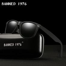 2017 fashion classic HD Polarized UV400 Sunglasses men Cool