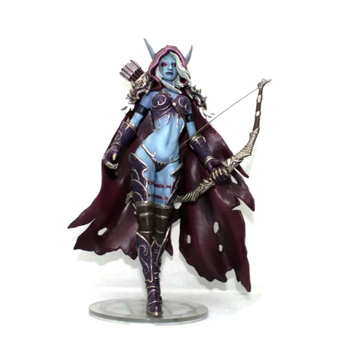 World Of Warcraft WOW Figure Sylvanas Witch Elves Archer 7-inch 18CM PVC Toys Modle Gift Favorites Decoration Figma Kid Toy 1