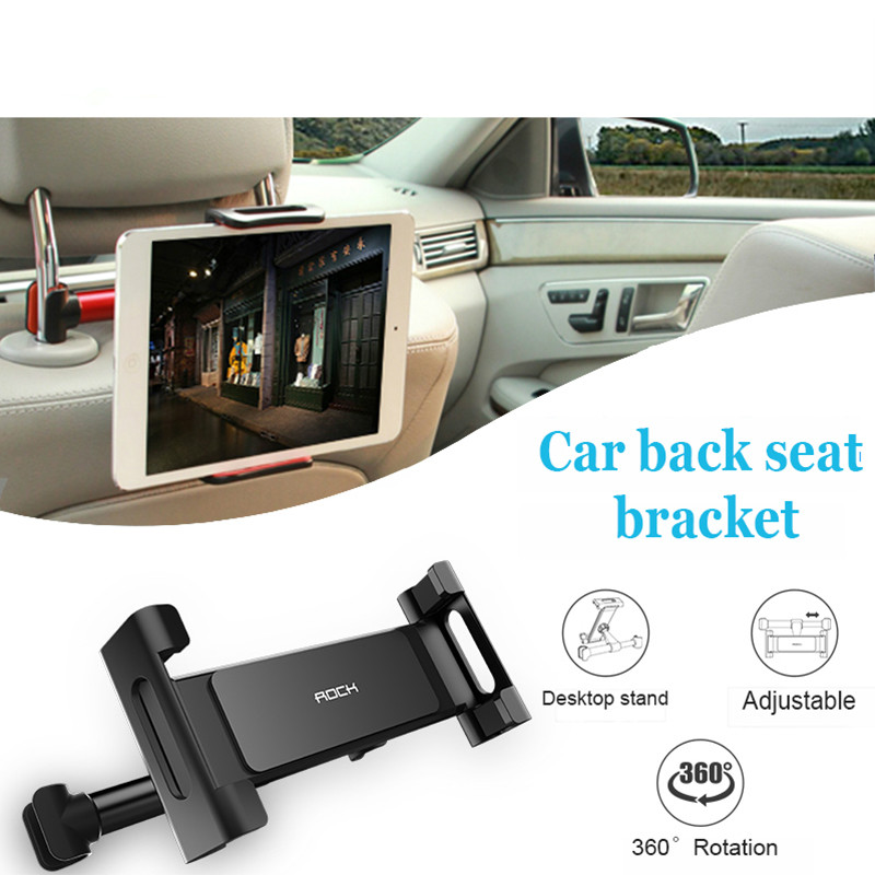 Car Back Seat Headrest Mount Bracket For iPad Tablet PC For <font><b>Mercedes</b></font> <font><b>W203</b></font> W204 W211 CLA GLA W176 Mazda CX-7 Volvo V70 S60 MG ZS image