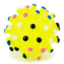 2019 Original 6.5cm Durable Squeaky Pet Dog Ball Toys Soft Ribber Chew Toy Quack Playing Products Supplies