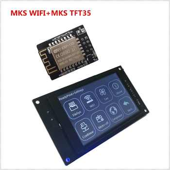 3d printer display MKS TFT35 V1.0 touch screen + MKS TFT WI-FI module remote control LCD panel 3.5'' TFT colorful displayer - DISCOUNT ITEM  19% OFF All Category