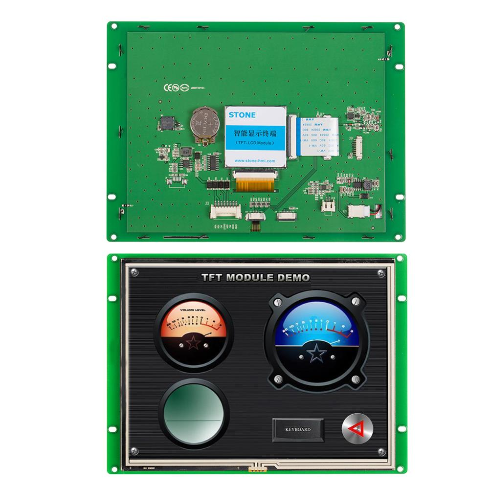 RS232 RS485 TTL Port 8 inch LCD Touch Display with Controller Board for Operate Panel
