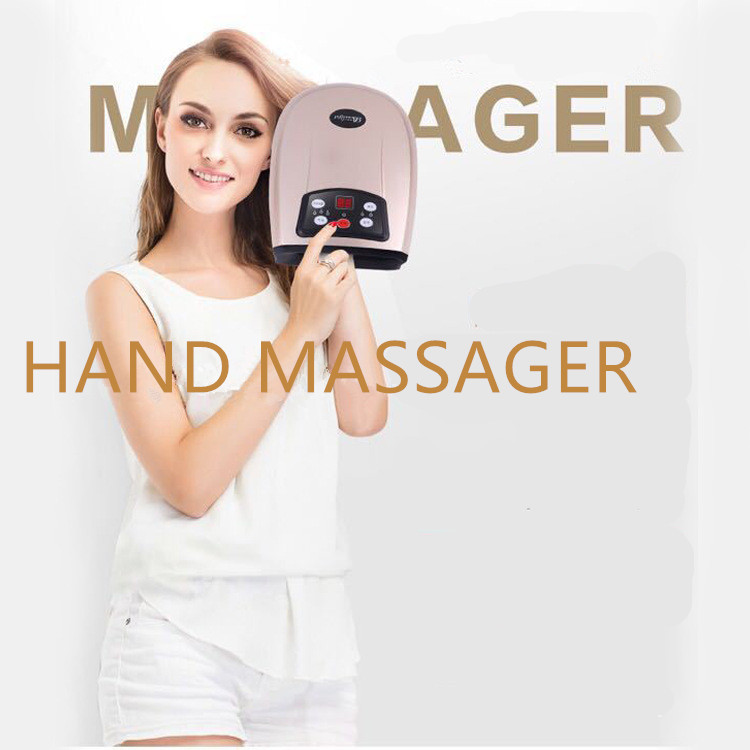 Heating Air Pressure Hand Massager Air Compression Palm Massager Circulation Physiotherapy Finger Spa Relieve Pain