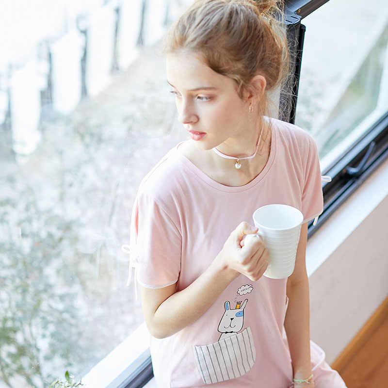 Fenteng Mùa Hè Bộ Đồ Ngủ Quần Ngủ, Thời Trang Đồ Ngủ Nữ Mặc Nhà Thoải Mái Nữ Homewear Nữ X8921817