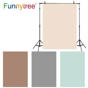 Image 1 - Funnytree Photo background photography newborn baby Light Brown Solid color birthday backdrops for photo studio photophone