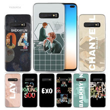 Exo K Pop Baekhyun Case for Samsung Galaxy S10 5G S10e S9 S8 Note 10 8 9 J4 J6 Plus M40 M30 M20 M10 Soft Phone Coque Sac Fashion(China)