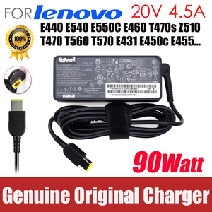 original 20V 4.5A AC Adapter Laptop Charger For Lenovo Thinkpad E440 E540 E550C E460 T470s T470 T560 T570 E431 E450c E455 Z510