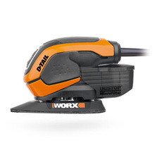 Free shipping WORX  65W mouse sander WX648 wood sander with 22 pcs accessories