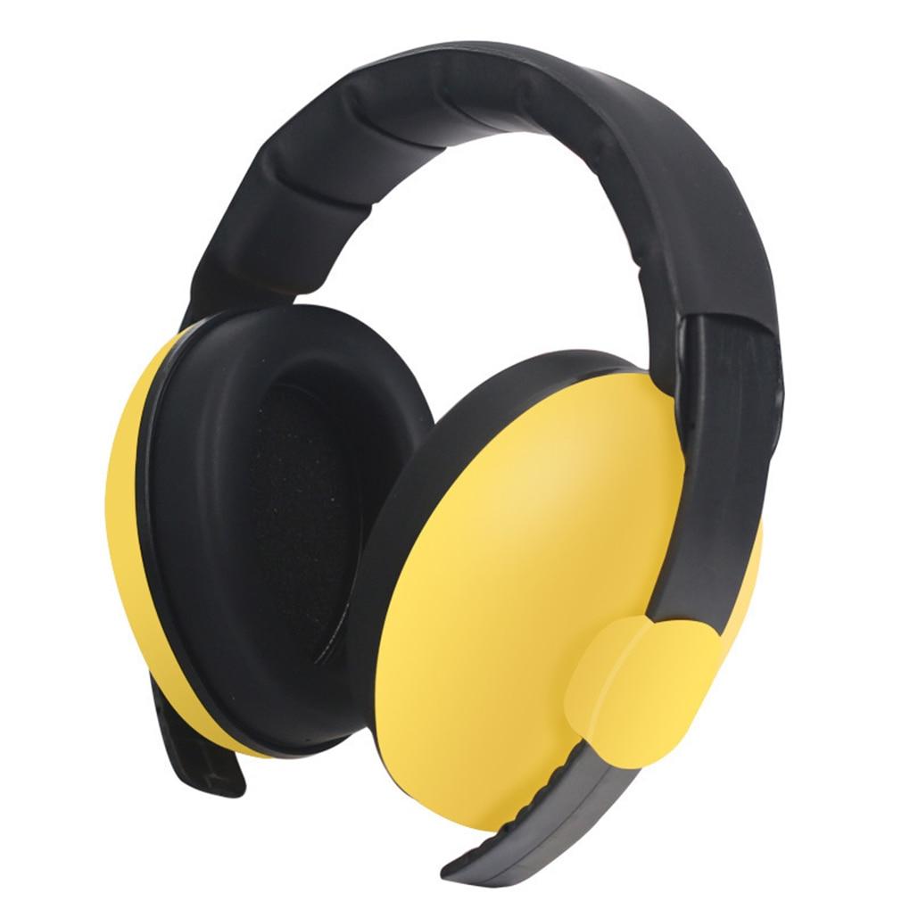 Регулируемые наушники для детей, защита для слуха, шумоподавление, защита для ушей, наушники