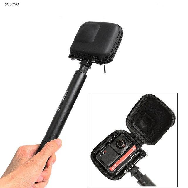 Étui de transport Mini sac de rangement coque de protection étanche pour Insta360 ONE R / 4K édition panoramique accessoires de caméra de sport