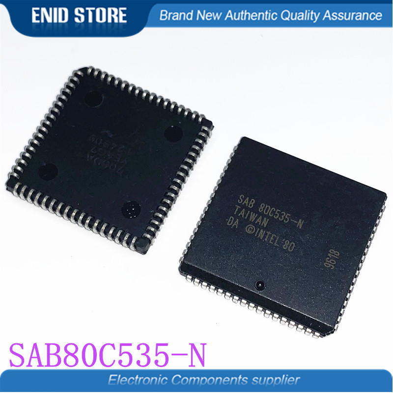 10pcs lot SAB80C535 N SAB80C535 SAB 80C535 N 80C535 PLCC68