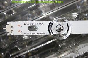 Image 2 - 8 PCS/set LED Backlight Strip for LG 42LB5610 42LB5800 42LB585V 42LB DRT 3.0 42 A/B 6916L 1709A 1710A 6916L 1957A 1956A