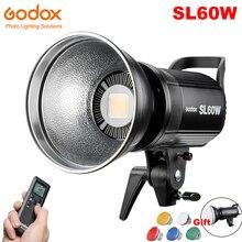 Godox SL 60W SL60W LED Continue Video Licht 60W CRI 95 + Wit 5600K Bowens Mount met Afstandsbediening voor Sony Fotografie