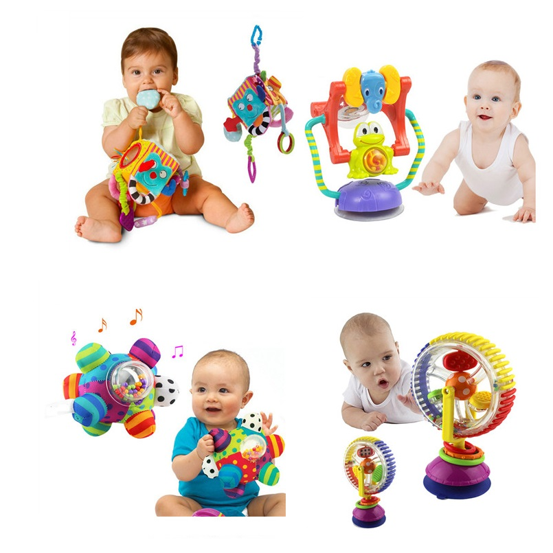 Apaffa Baby Stroller Toy Ferris Wheel Rattles For Newborn Baby Muscial/Mobile/Educational/Newborn Toys For Baby 0-12 Month I0130