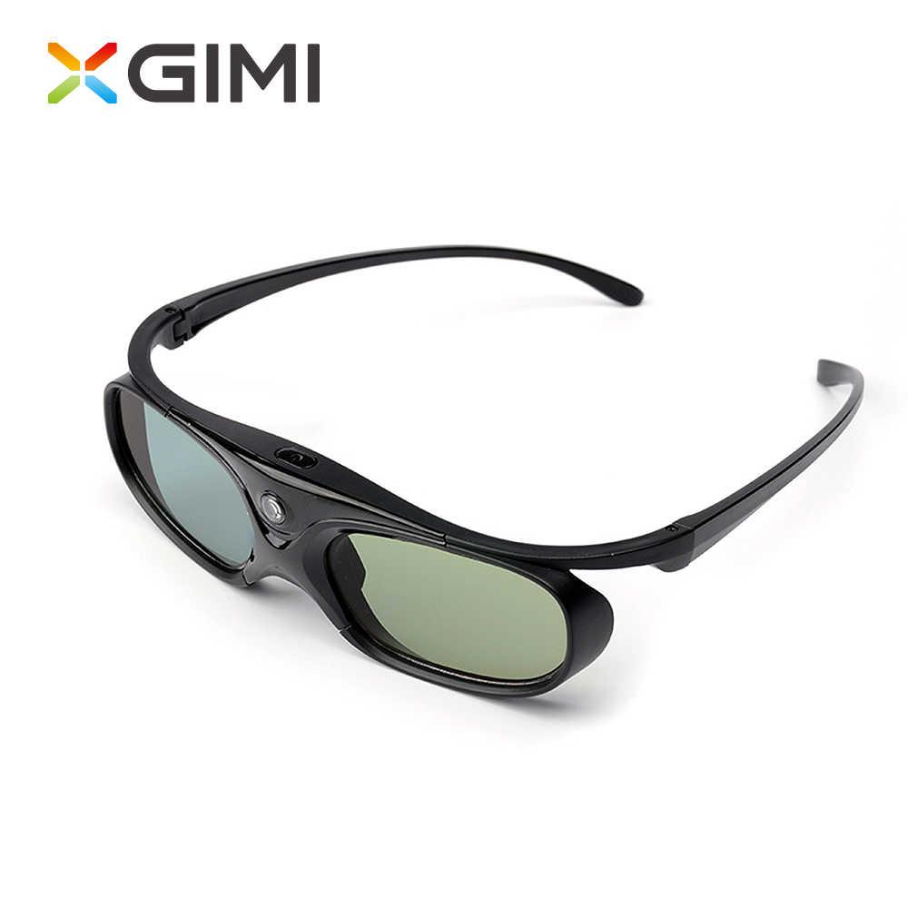 XGIMI Shutter 3D Kacamata Kaca LCD untuk XGIMI H1/ XGIMI H2 / Z6/ H1S/ XGIMI z3/JMGO Proyektor Built-In Baterai