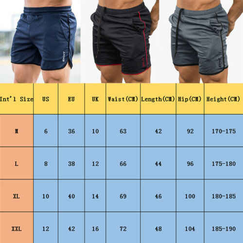남성 체육관 반바지 트레이닝 러닝 스포츠 운동 캐주얼 조깅 바지 2019 mens beachwear shorts casual short hot sale