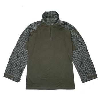 Koszula bojowa TMC G3 Ranger zielona RG koszula wojskowa z długim rękawem NYCO(STG051041) tanie i dobre opinie STINGER GEAR G3 Combat Shirt Pasuje prawda na wymiar weź swój normalny rozmiar Night Desert Camouflage Combat Shirt NYCO fabrics YKK zipper