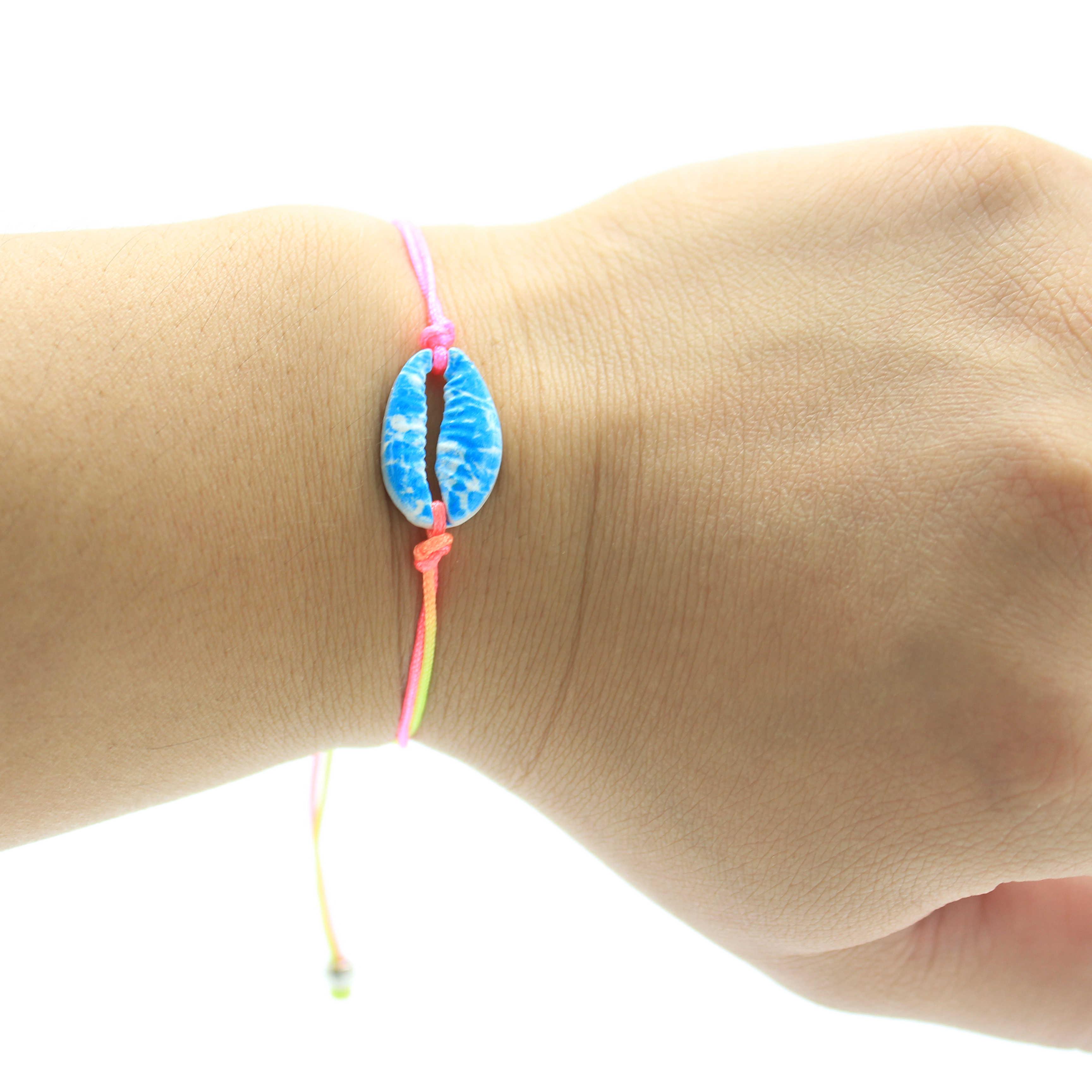 Модный богемный браслет, винтажный цветной металлический корпус, цепочка веревка ручной работы, браслеты для женщин/мужчин